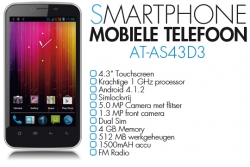 Aldi Wolfgang AT-AS43D3 Android Dual Sim
